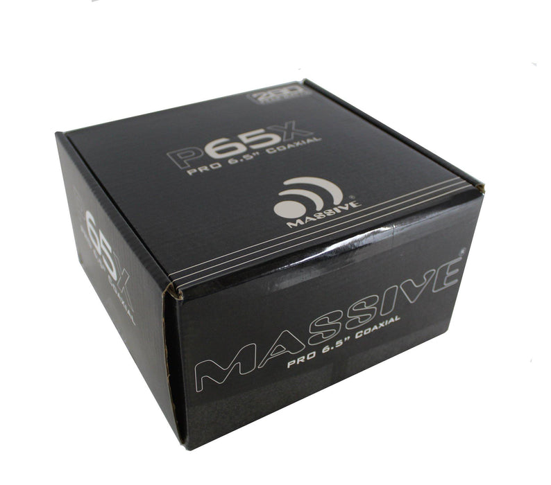 "Massive Audio P65X Pro 6.5"" 280W 4 Ohm Car Audio Speaker with Tweeter"