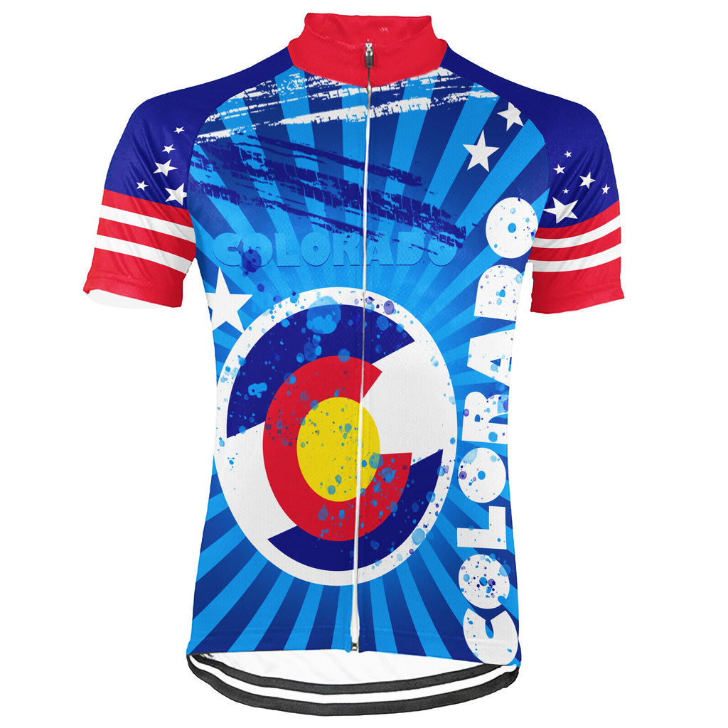 Colorado Short Sleeve Cycling Jersey for Men