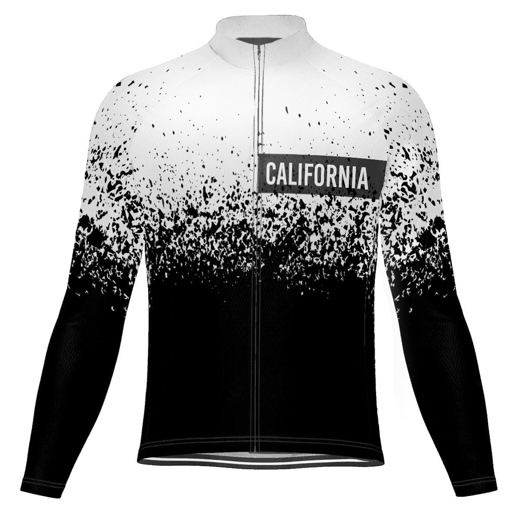 California Long Sleeve Cycling Jersey for Men