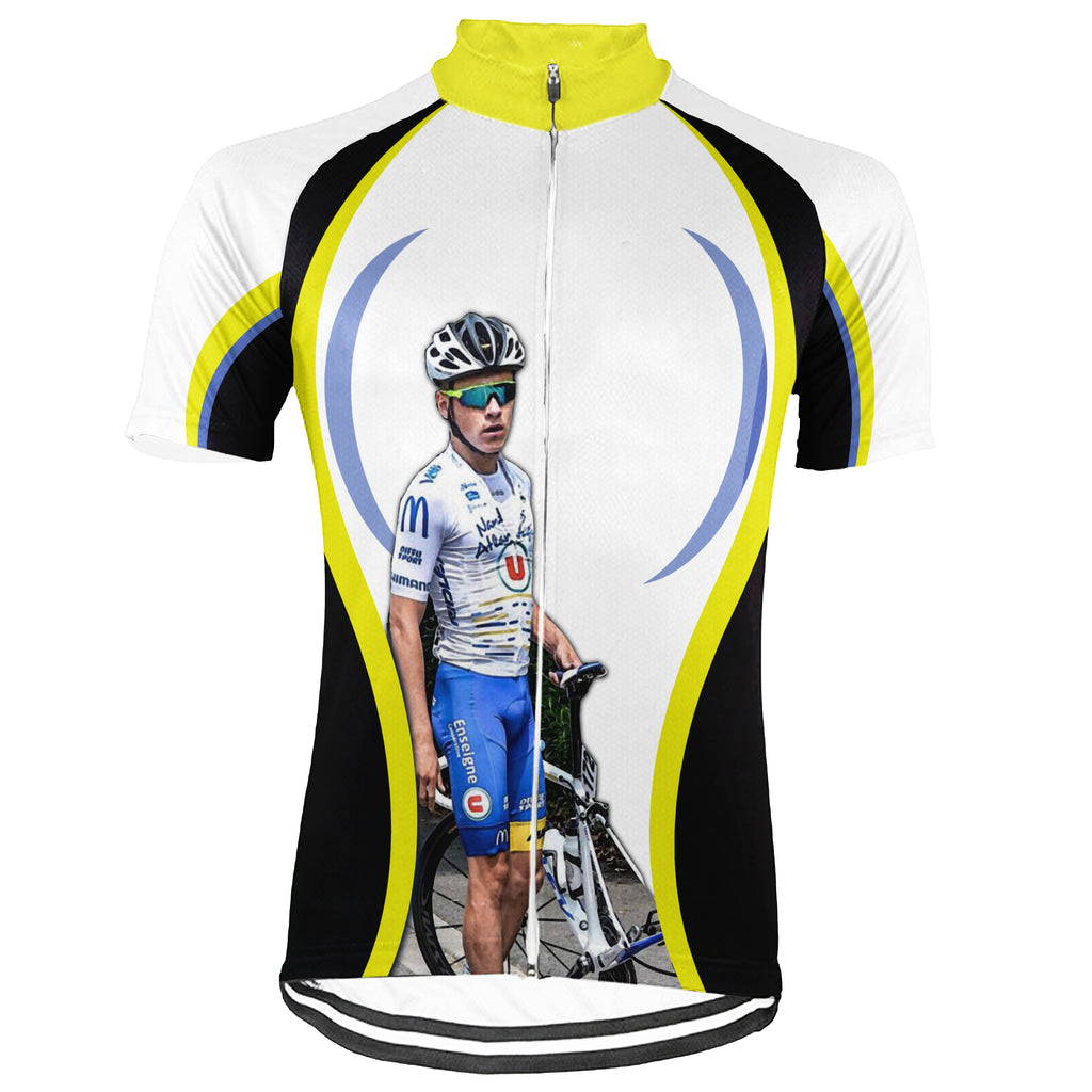 Customized Image Short Sleeve Cycling Jersey for Men