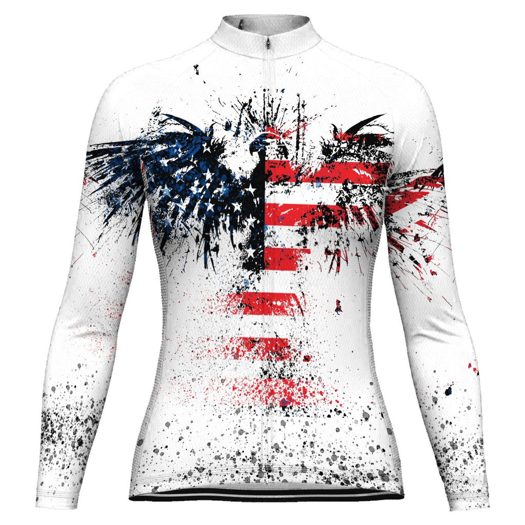 Eagle Long Sleeve Cycling Jersey for Women