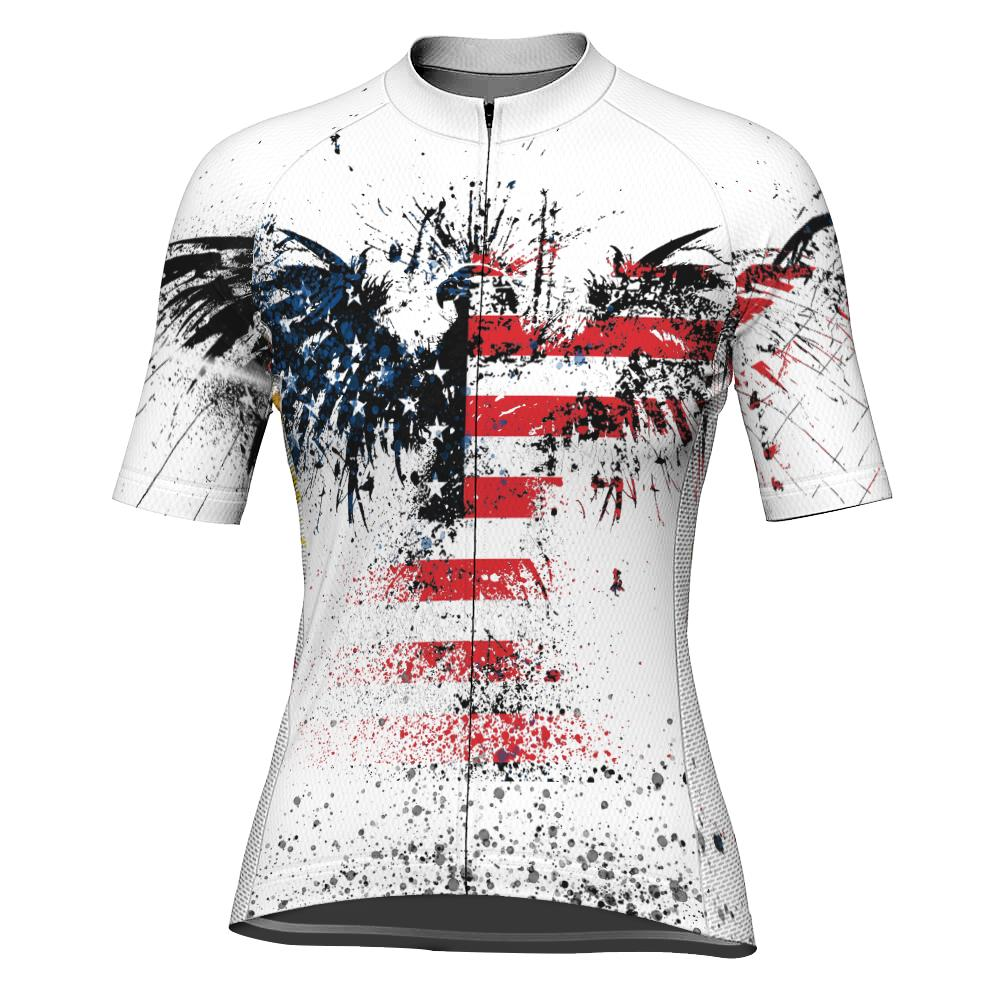 Eagle Short Sleeve Cycling Jersey for Women