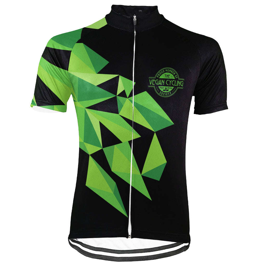 Customized Vegan Short Sleeve Cycling Jersey for Men