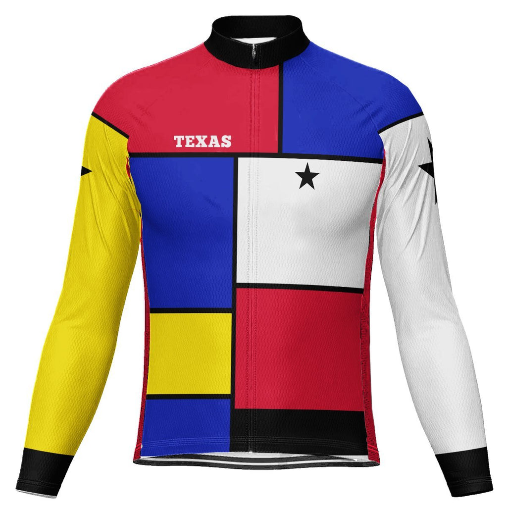 Texas Long Sleeve Cycling Jersey for Men