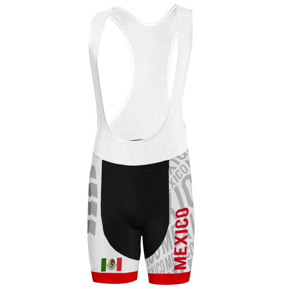 Mexico Bib Shorts Cycling Bib Shorts for Men