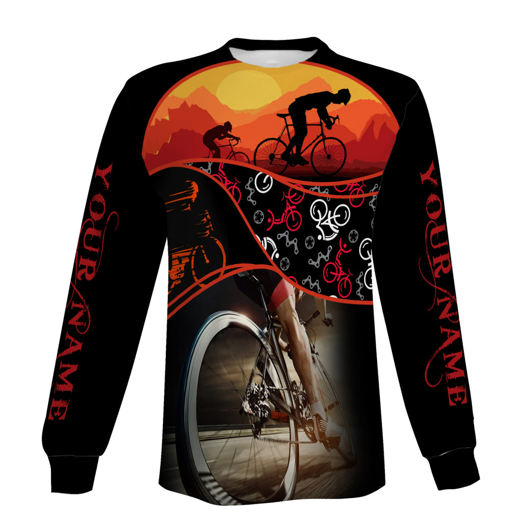 Customized Cycling Zip Up Hoodie, Long Sleeve, and Hoodie For Men