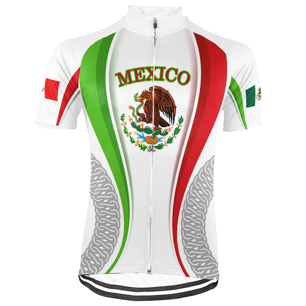 Mexico Short Sleeve Cycling Jersey for Men
