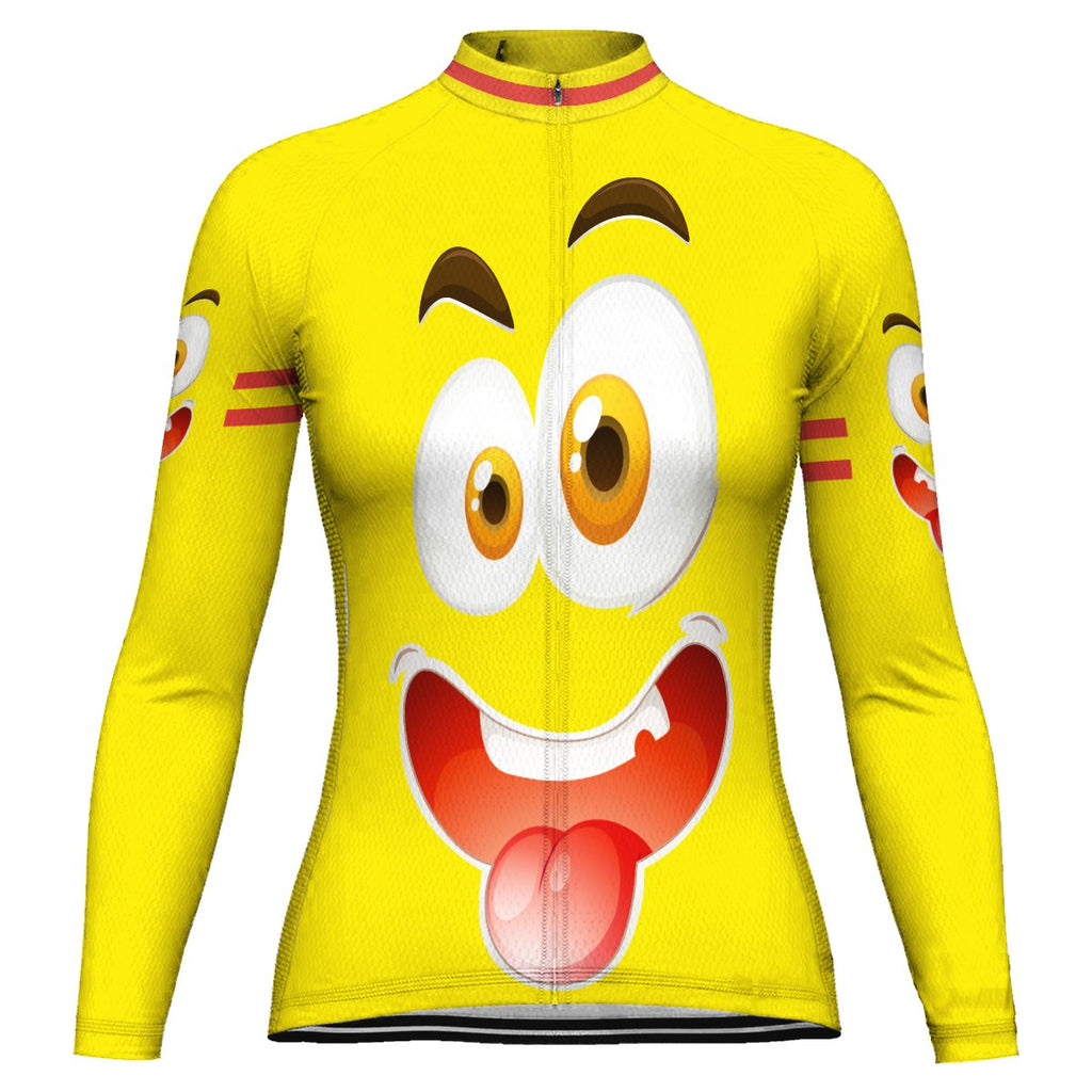 Funny Long Sleeve Cycling Jersey for Women