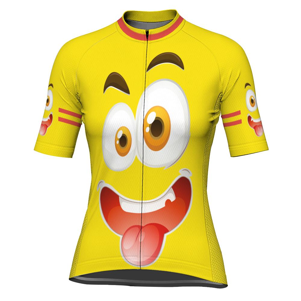 Funny Short Sleeve Cycling Jersey for Women
