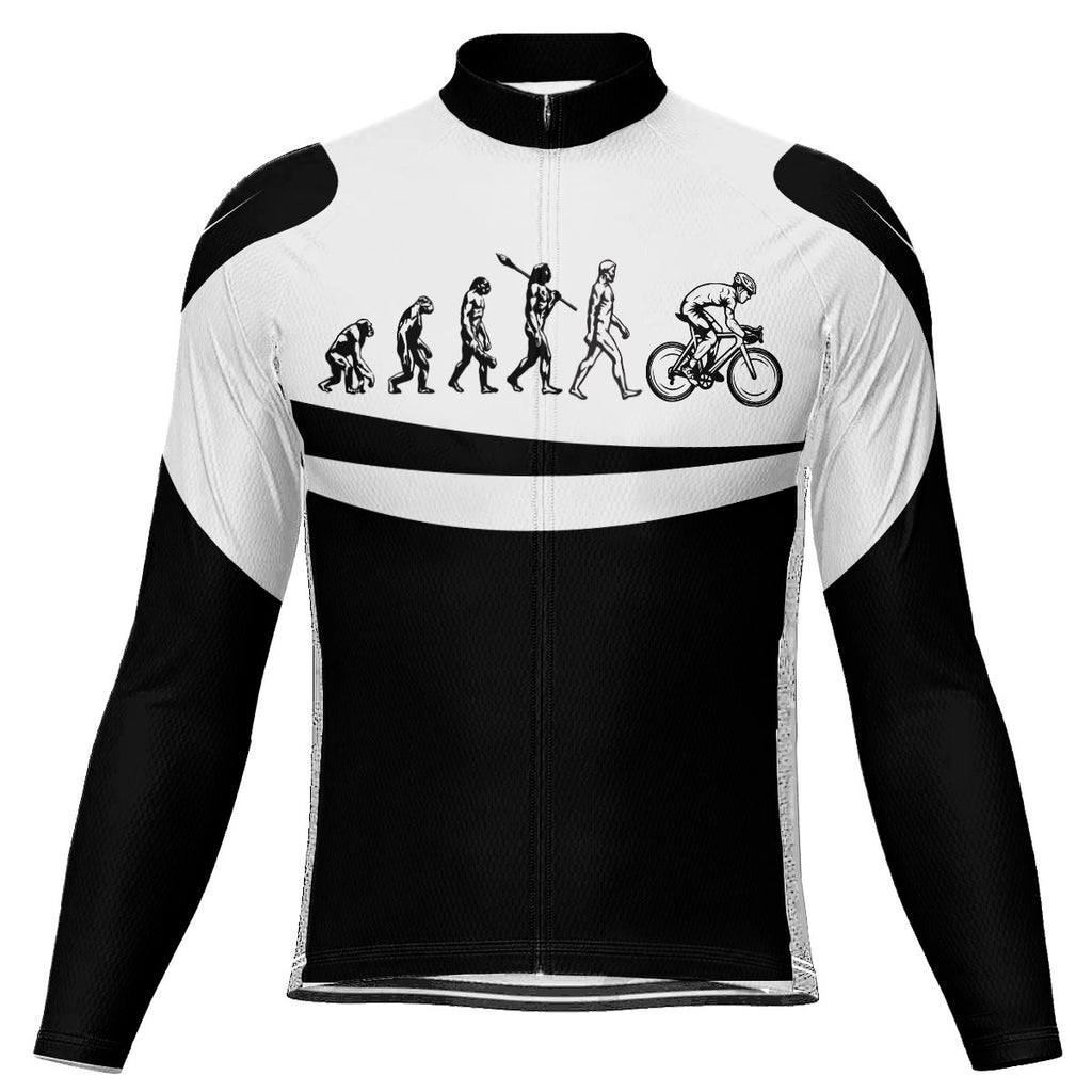 Funny Long Sleeve Cycling Jersey for Men
