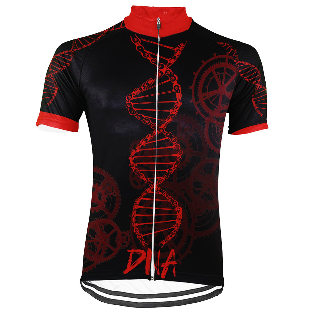 Funny Short Sleeve Cycling Jersey for Men