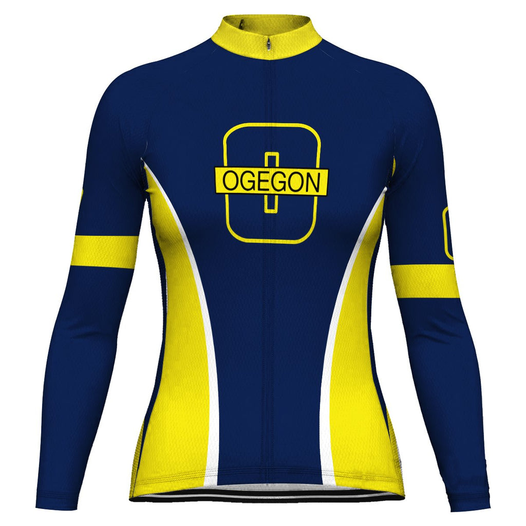 Oregon Long Sleeve Cycling Jersey for Women
