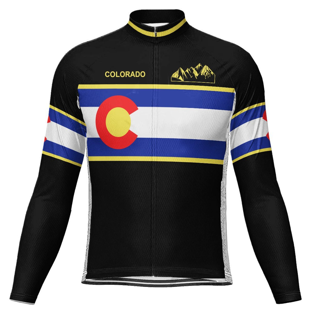Colorado Long Sleeve Cycling Jersey for Men
