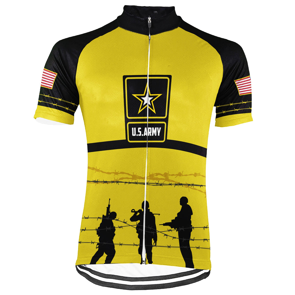 Veteran Short Sleeve Cycling Jersey for Men