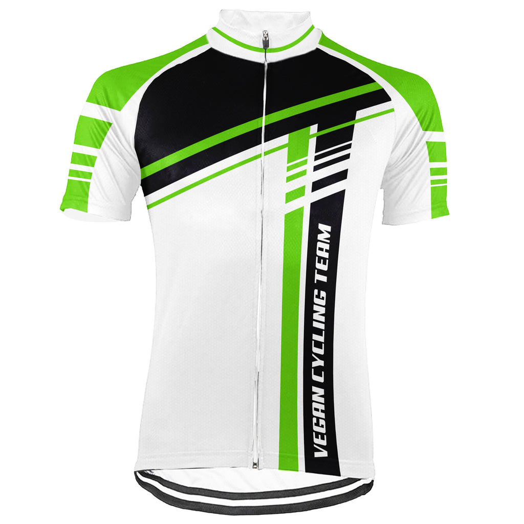 Vegan Short Sleeve Cycling Jersey for Men