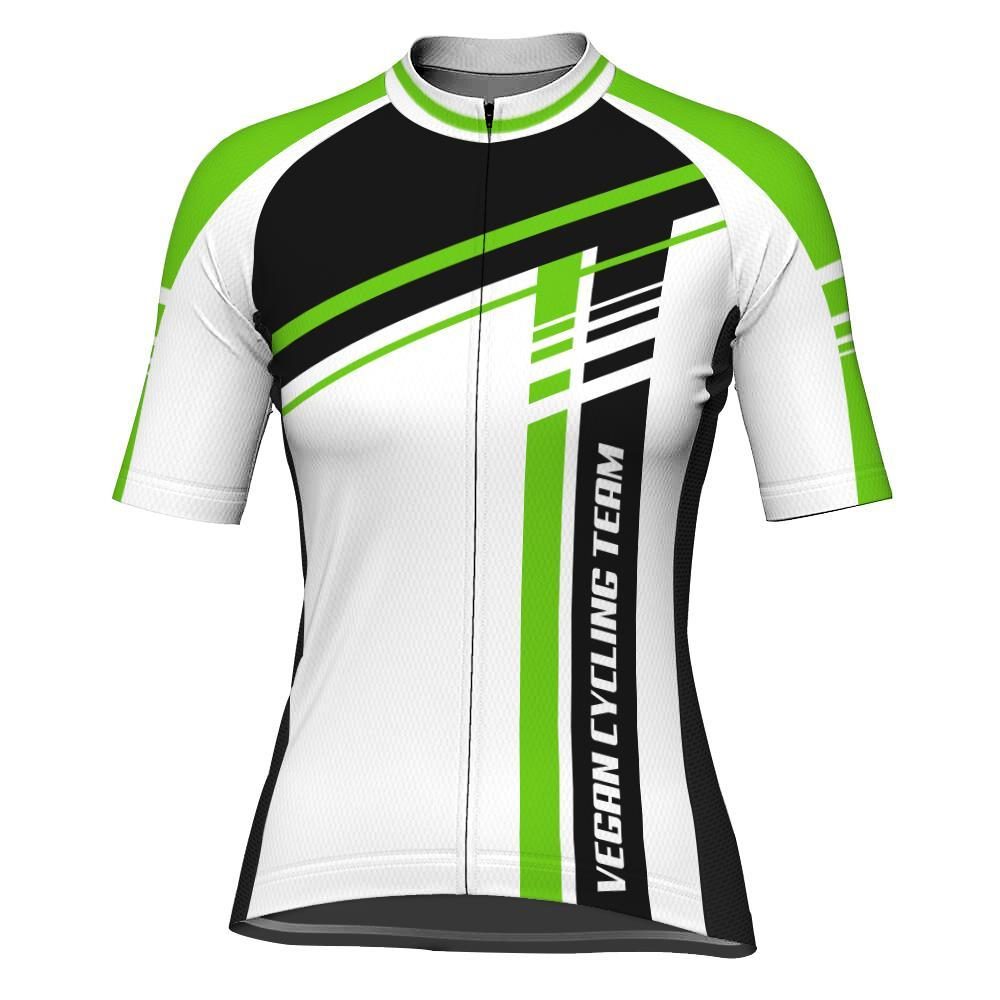 Vegan Short Sleeve Cycling Jersey for Women