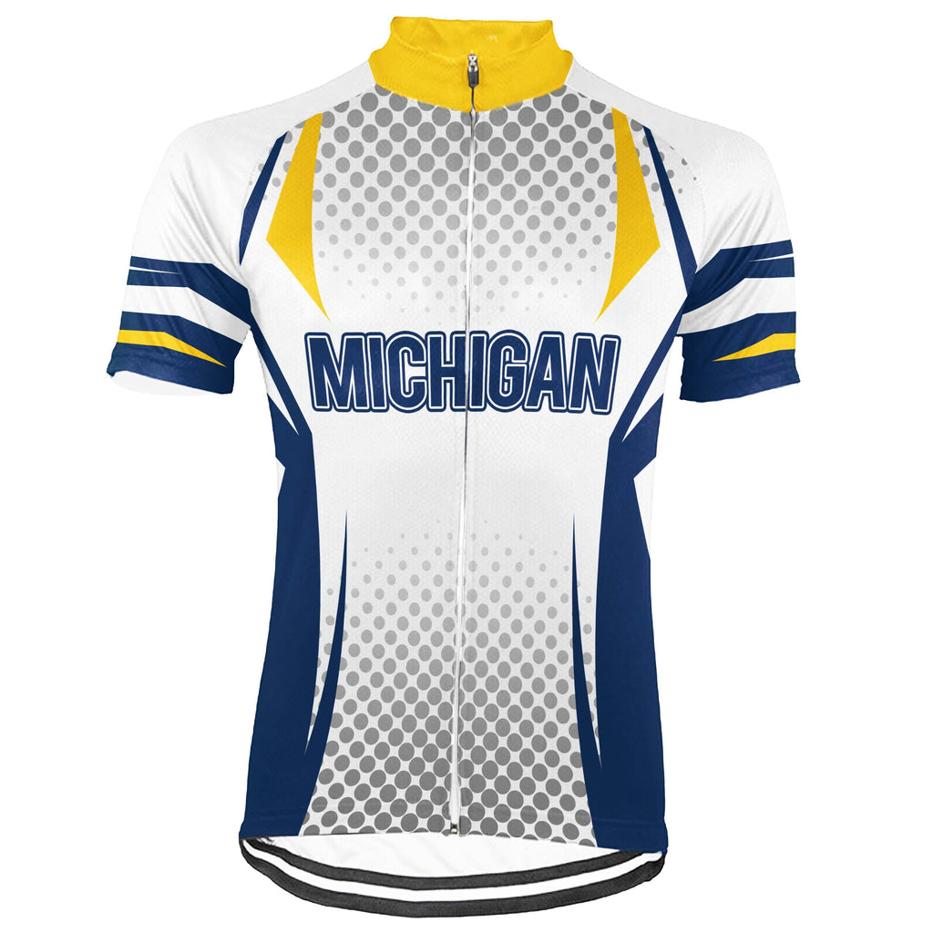 Michigan Short Sleeve Cycling Jersey for Men