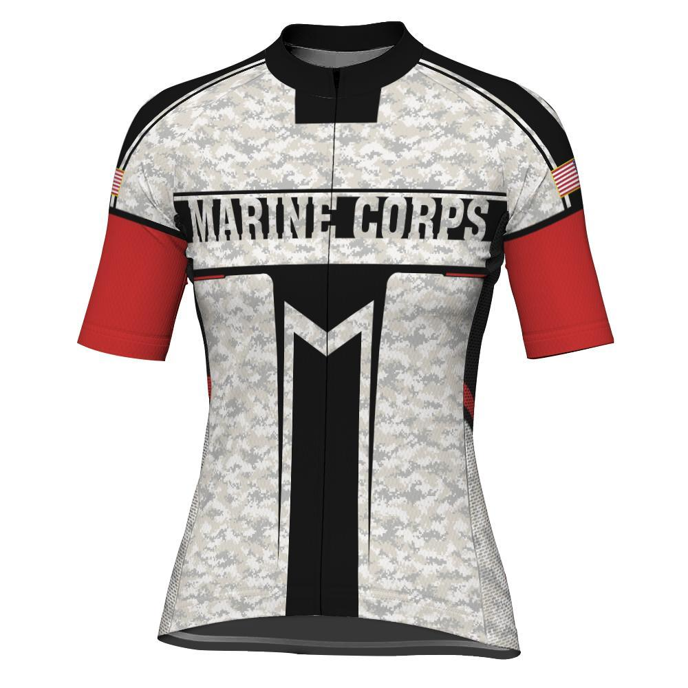 Marine Corps Short Sleeve Cycling Jersey for Women