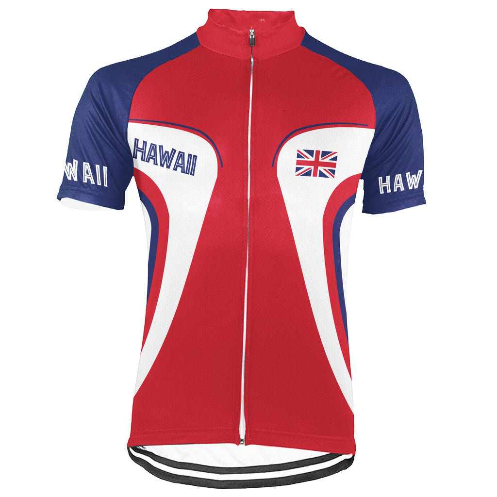 Hawaiian Short Sleeve Cycling Jersey for Men