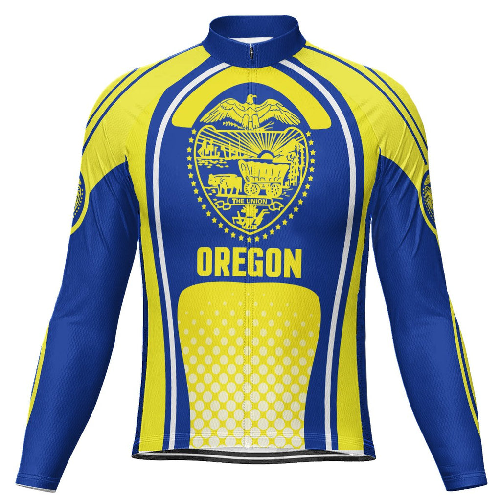 Oregon Long Sleeve Cycling Jersey for Men