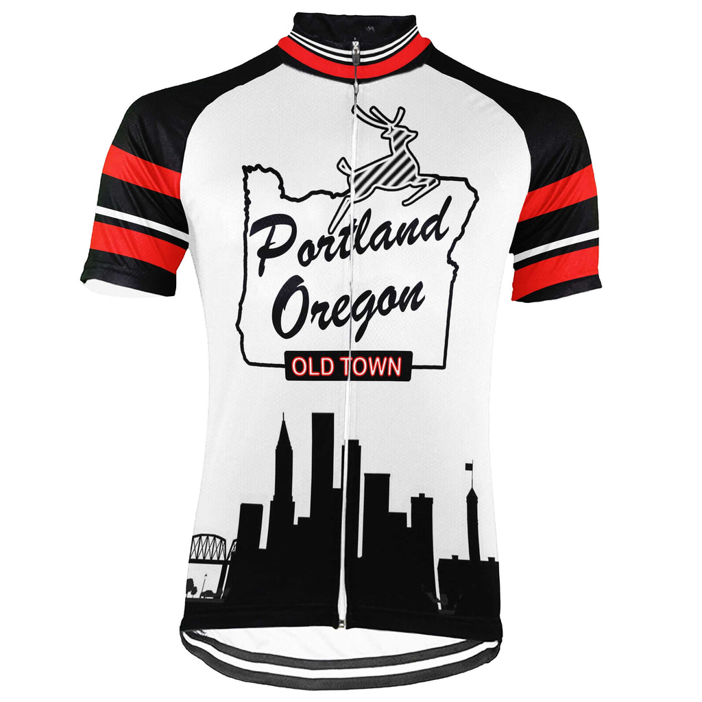 Oregon Short Sleeve Cycling Jersey for Men