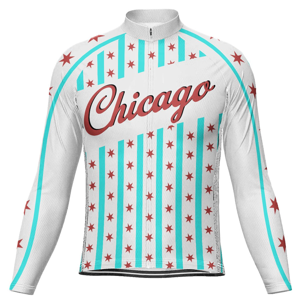Chicago Long Sleeve Cycling Jersey for Men