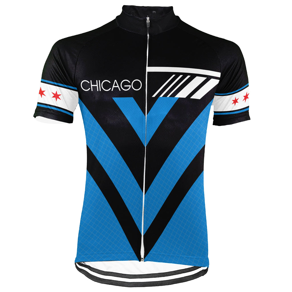 Chicago Short Sleeve Cycling Jersey for Men