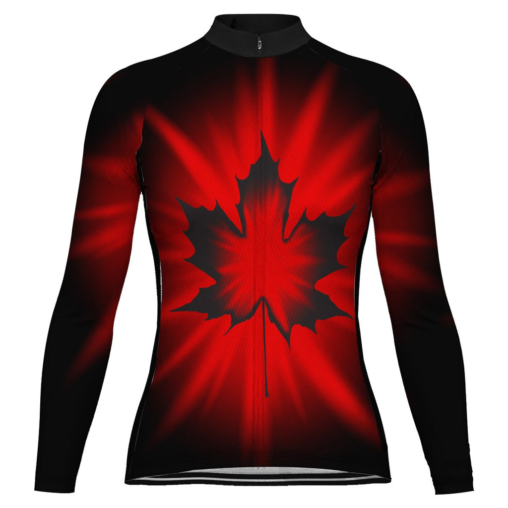 Customized Canada Winter Thermal Fleece Long Sleeve For Women