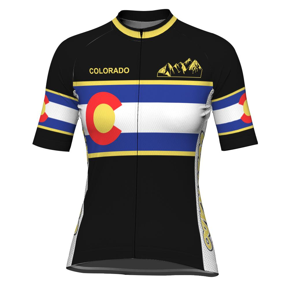 Customized Colorado Short Sleeve Cycling Jersey for Women