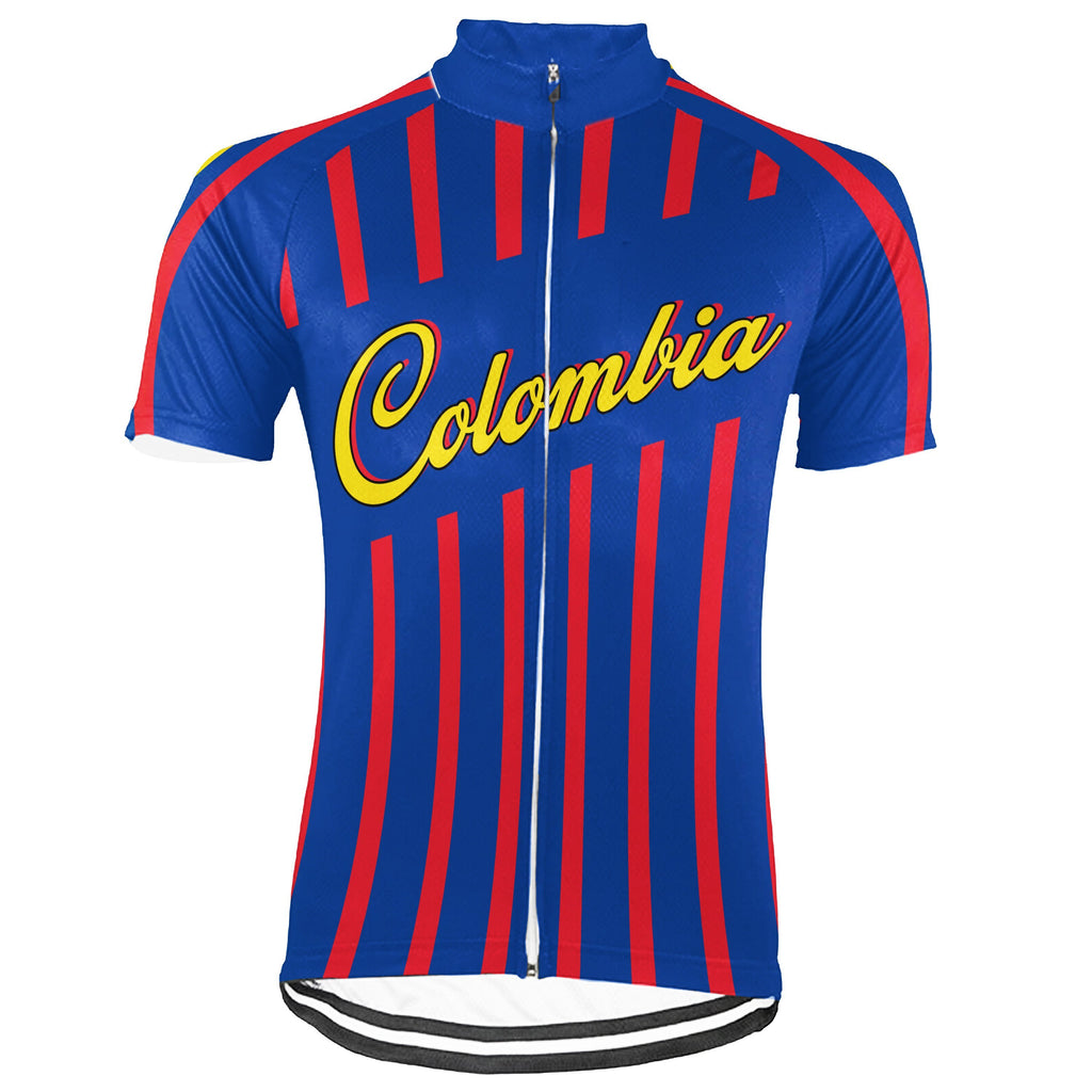 Colombian Short Sleeve Cycling Jersey for Men