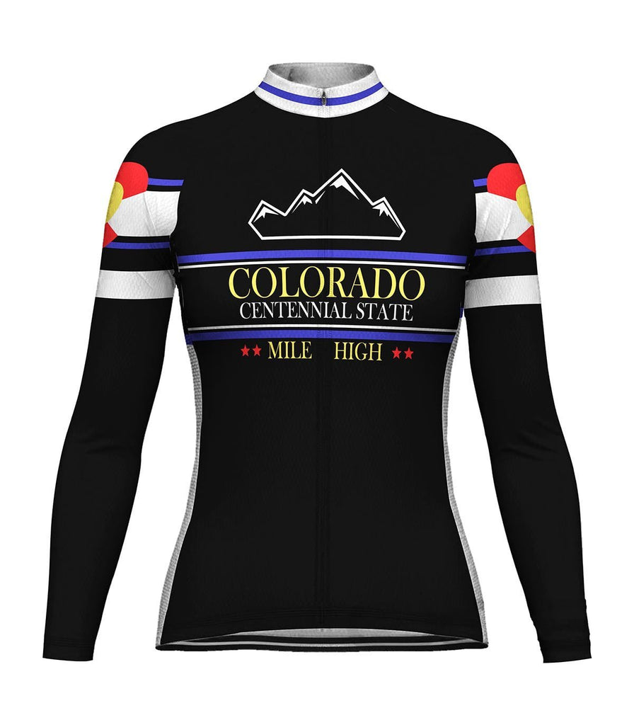 Colorado Long Sleeve Cycling Jersey for Women
