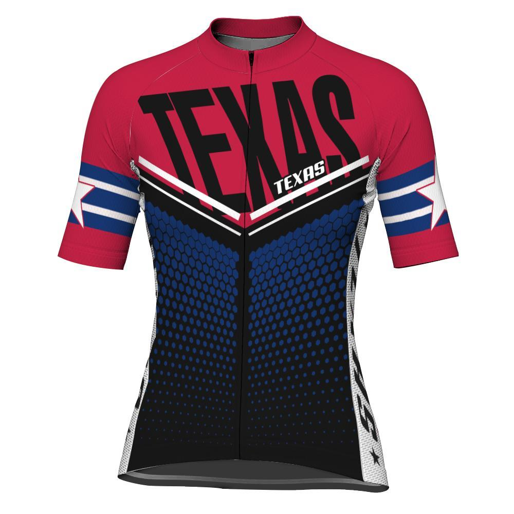 Texas Short Sleeve Cycling Jersey for Women