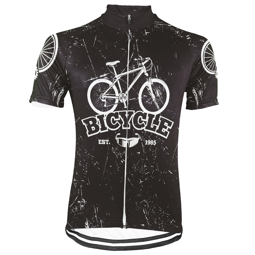 Vintage Short Sleeve Cycling Jersey for Men