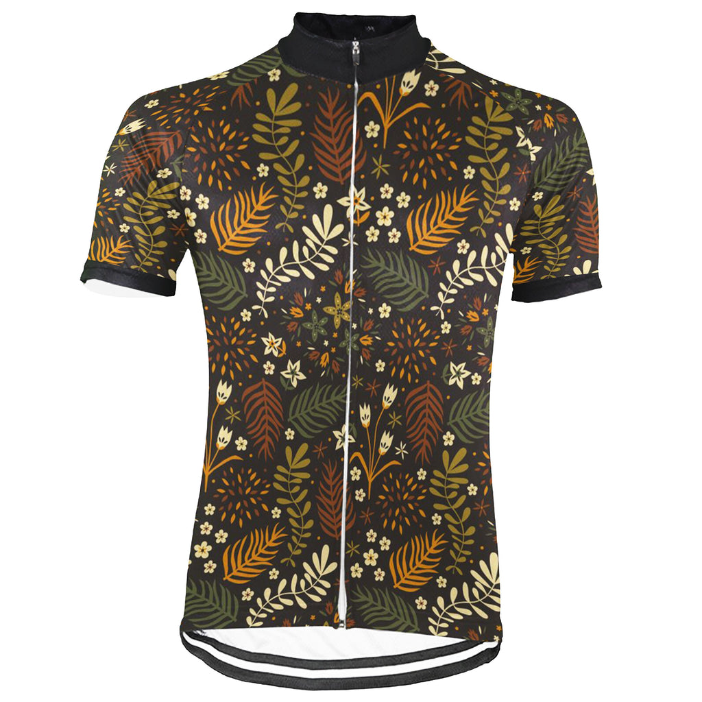 Colorful Short Sleeve Cycling Jersey for Men