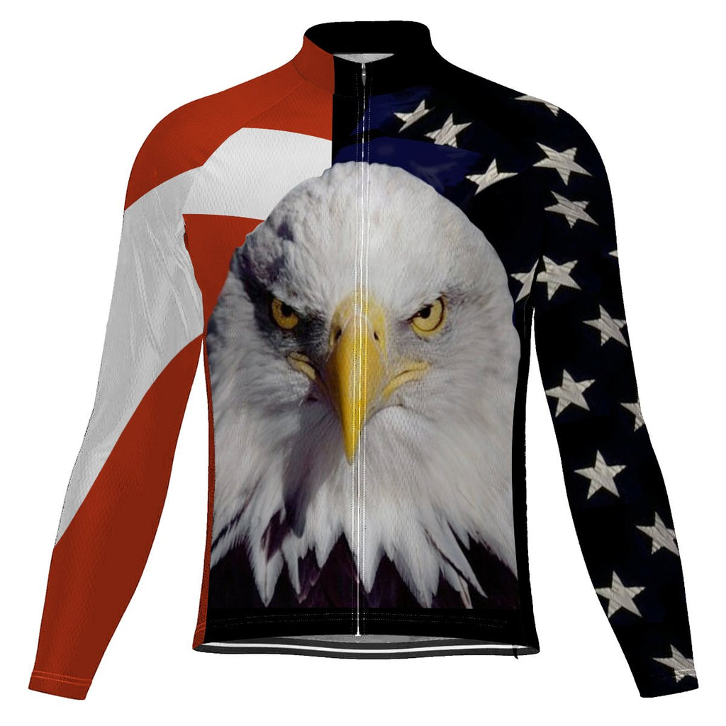 Eagle Long Sleeve Cycling Jersey for Men