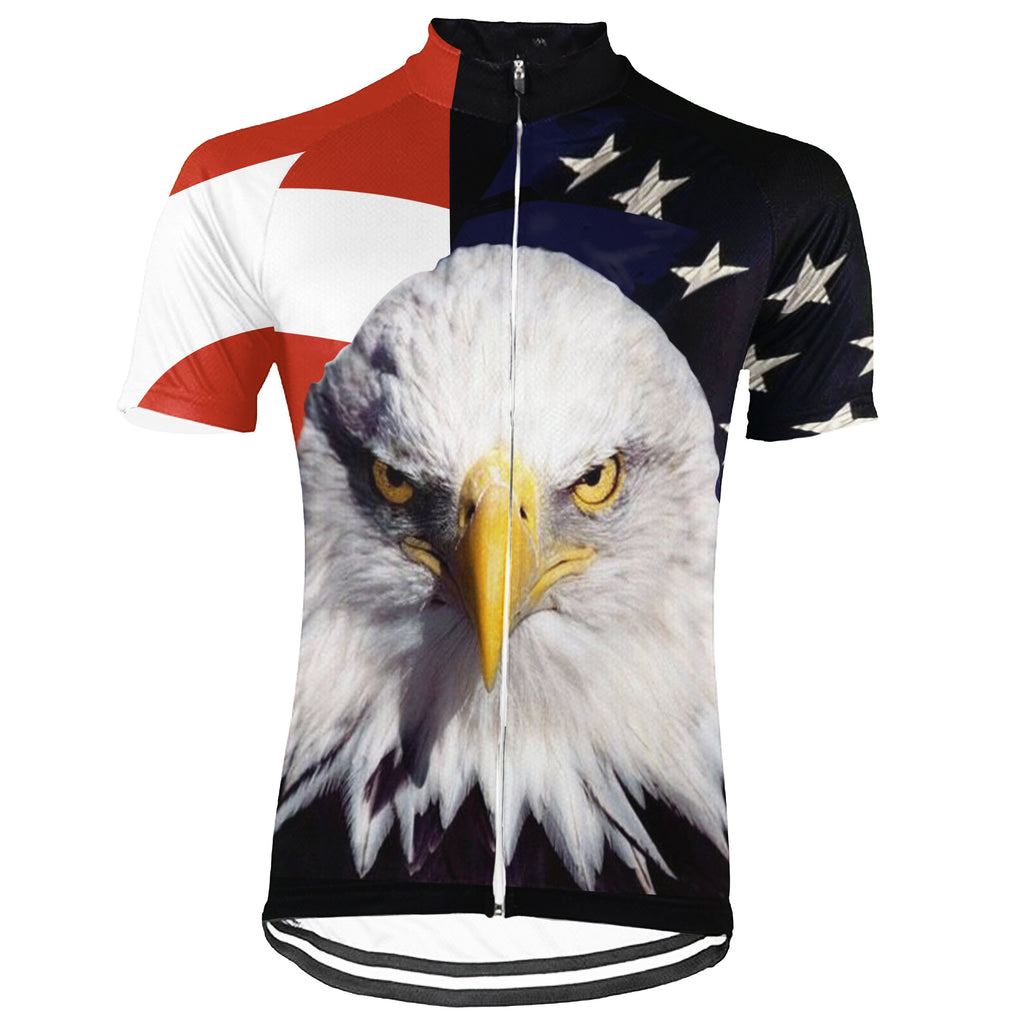Eagle Short Sleeve Cycling Jersey for Men