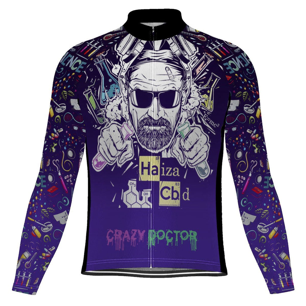 Crazy Long Sleeve Cycling Jersey for Men