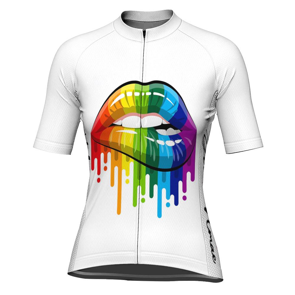Customized Funny Short Sleeve Cycling Jersey for Women