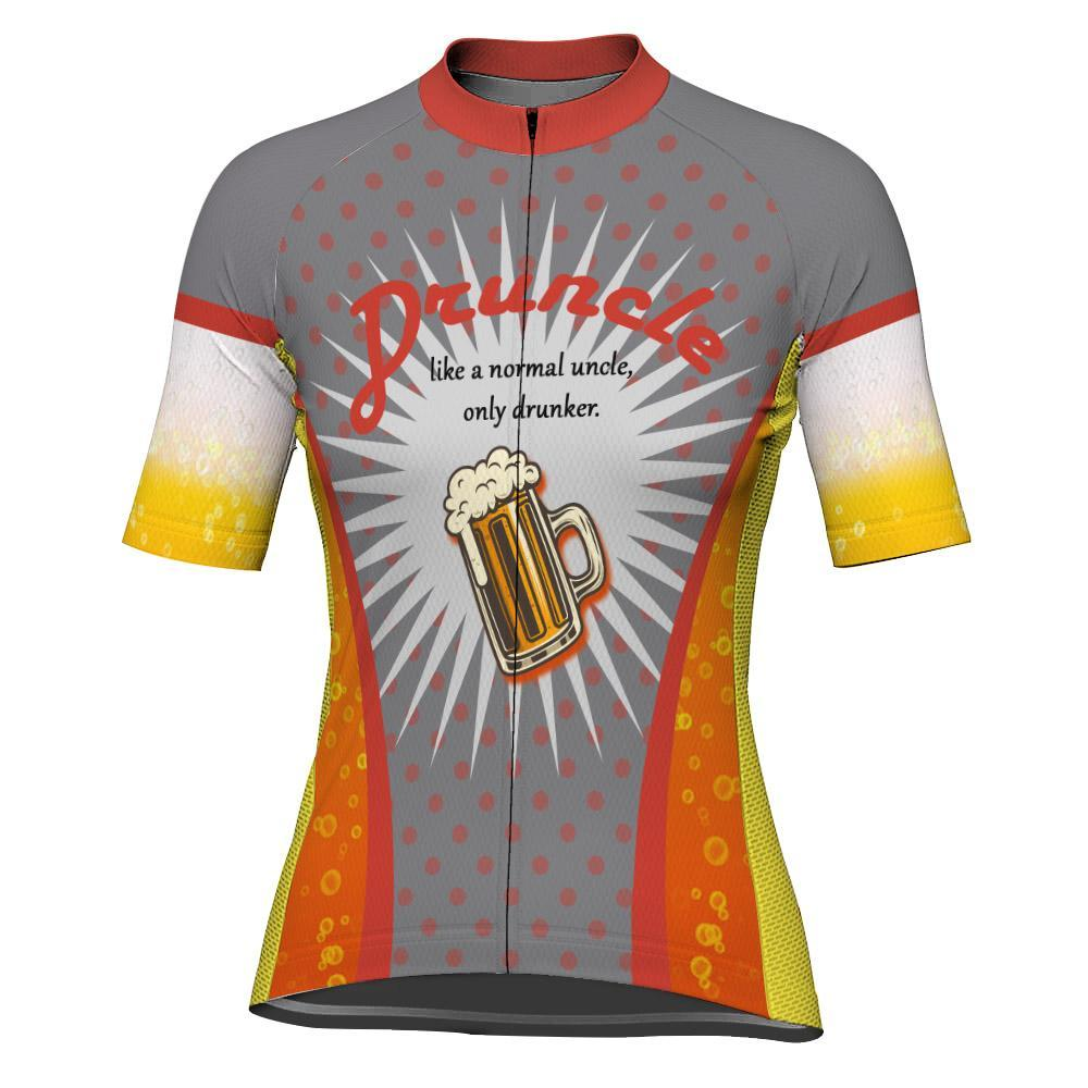 Beer Short Sleeve Cycling Jersey for Women