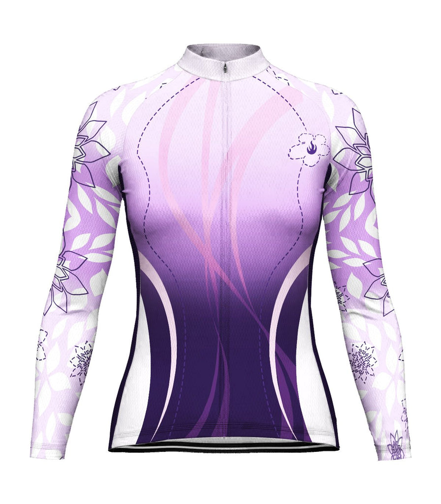 Outfit Women Long Sleeve Cycling Jersey for Women