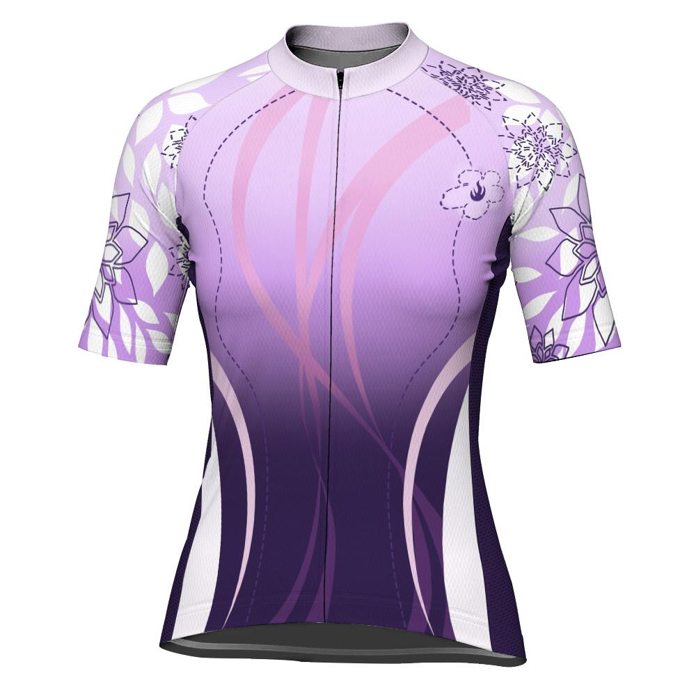 Outfit Women Short Sleeve Cycling Jersey for Women