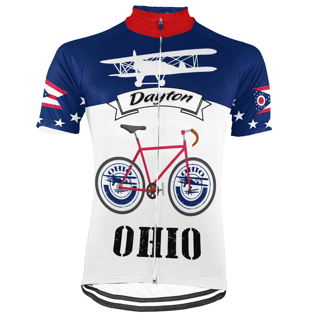Ohio City Short Sleeve Cycling Jersey for Men