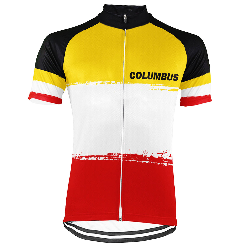 Columbus Short Sleeve Cycling Jersey for Men