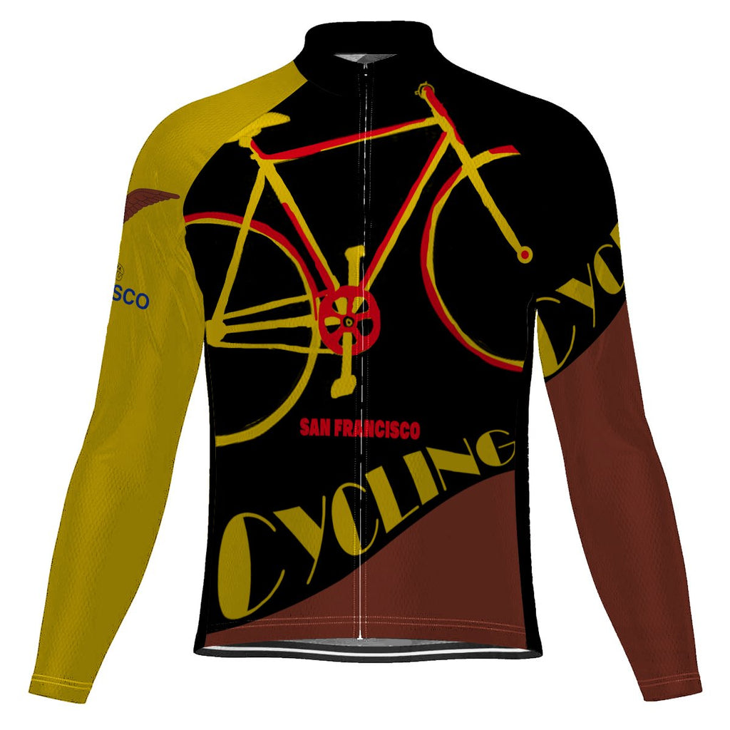 San Francisco Long Sleeve Cycling Jersey for Men