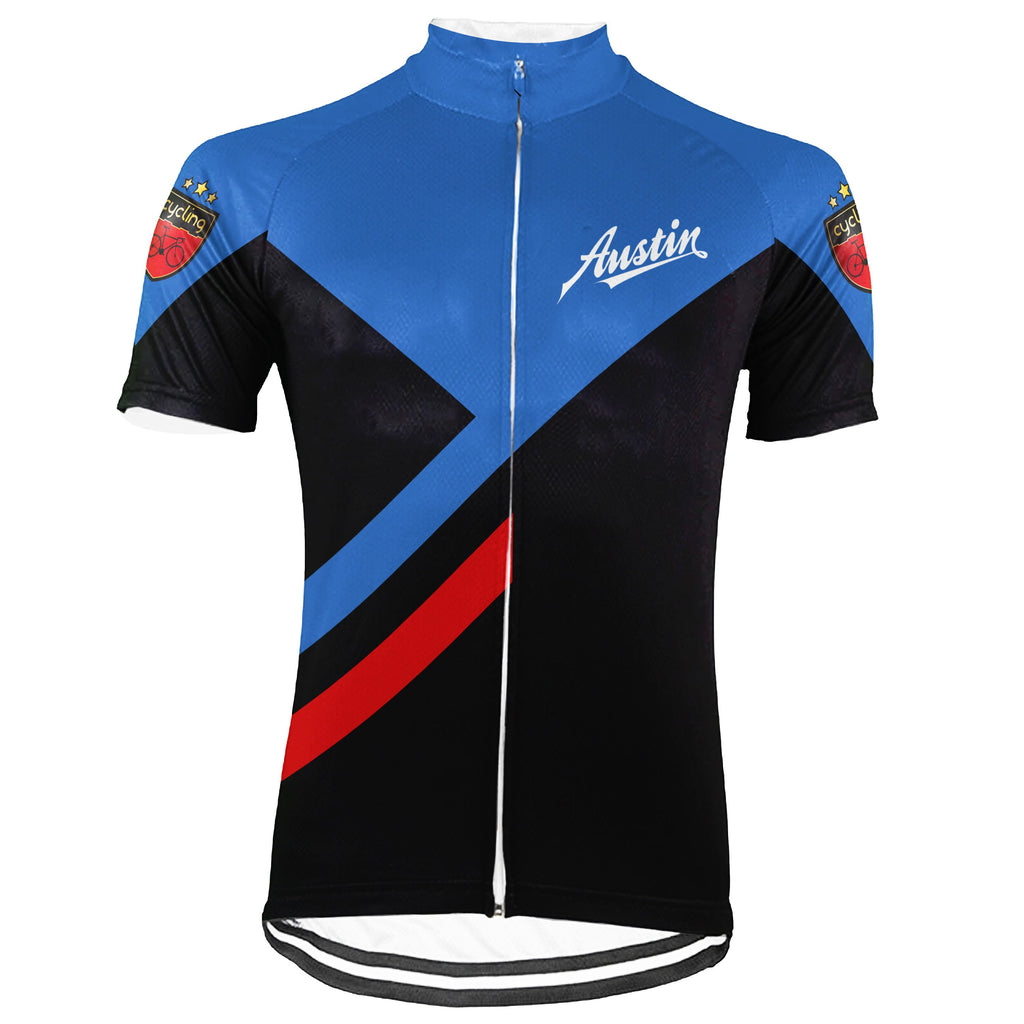 Austin Short Sleeve Cycling Jersey for Men