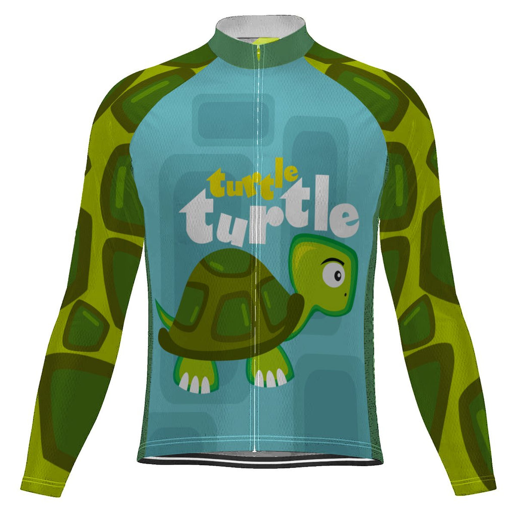 Turtle Long Sleeve Cycling Jersey for Men