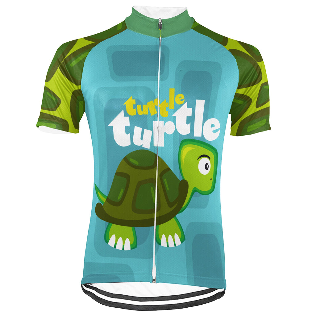 Turtle Short Sleeve Cycling Jersey for Men