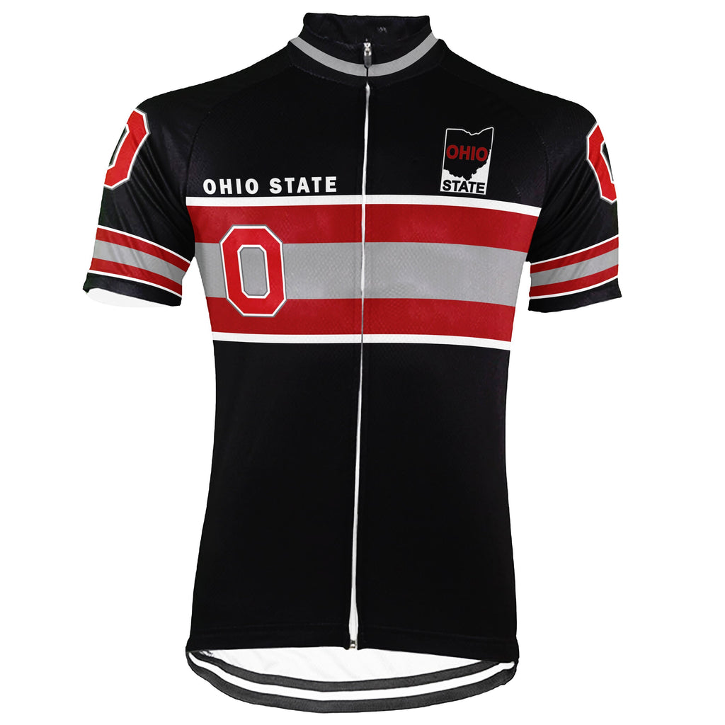 Awesome Ohio State Short Sleeve Cycling Jersey for Men