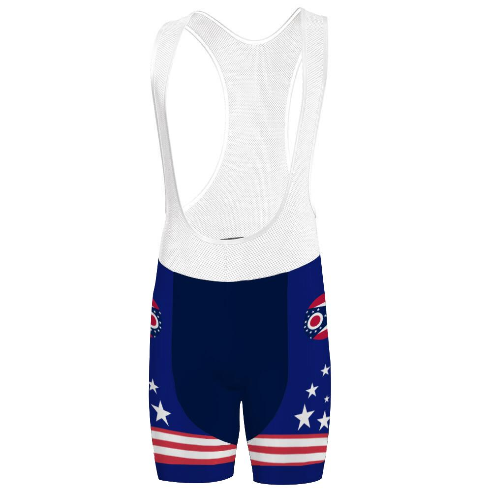 Ohio State Cycling Bib Short for Men