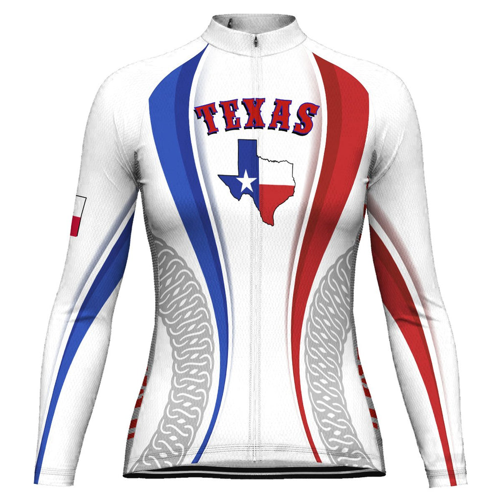 Customized Texas Winter Thermal Fleece Long Sleeve For Women